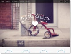plantilla wordpress Arcade