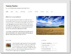 plantilla wordpress Twenty-Twelve