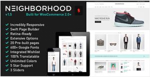 Neighborhood Tema WordPress Tienda Online
