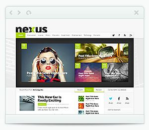 Nexus WordPress Theme