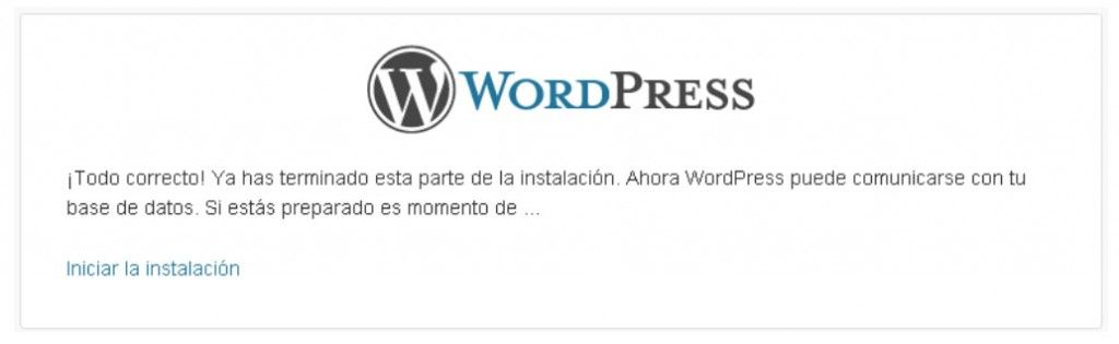 configurar wordpress 4
