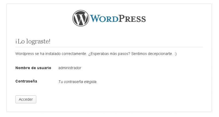 cómo instalar un blog de wordpress 1