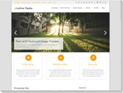 plantillas wordpress gratis Intuition