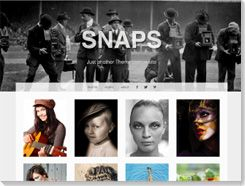 Temas wordpress gratis Snaps
